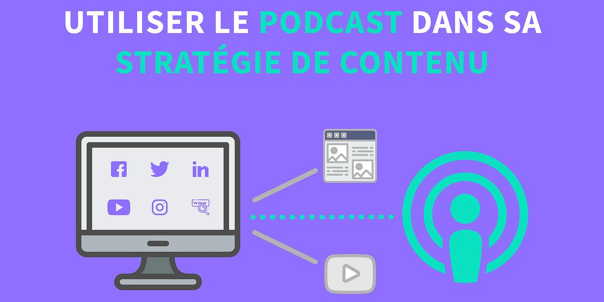 Découvrez comment utiliser le podcast comme un contenu de marque engageant