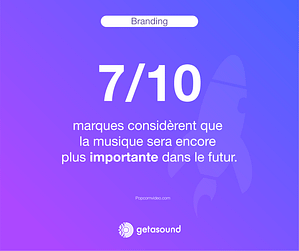 Statistique : 7 marques sur 10 considèrent que la musique sera encore plus importante dans le futur