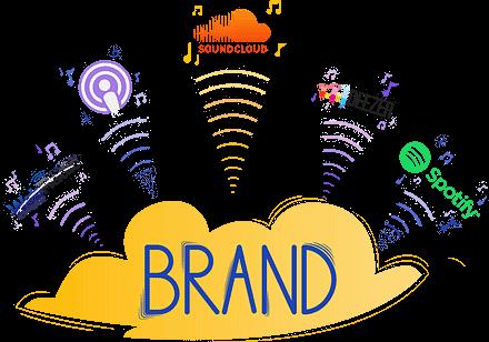 La promotion des podcasts sur les réseaux sociaux est compris dans le prix de création podcast.